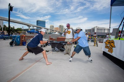 Blaklader Pants Pull at the SPECMIX BRICKLAYER 500