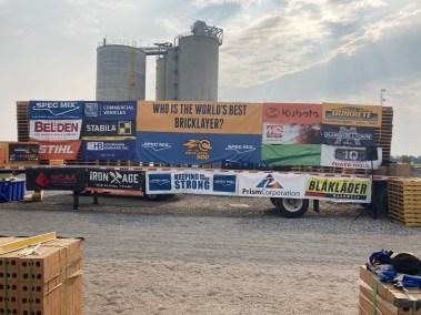 SPEC MIX BRICKLAYER 500 Ohio Regional Series sponsor stage