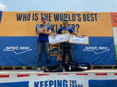 SPEC MIX BRICKLAYER 500 Ohio Regional Series First Place Winner Cole Stamper
