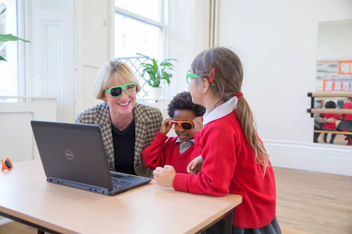 School Vision Screening Encourages Children S Eye Tests