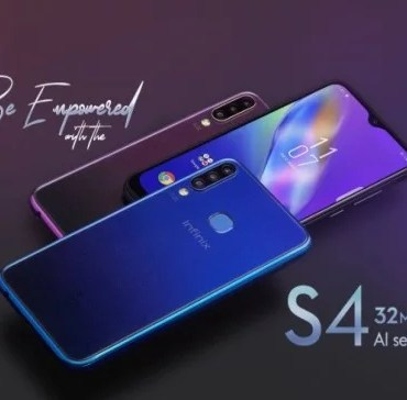 Infinix Hot S4 and Hot S4 Pro Full Specification and Price in Nigeria