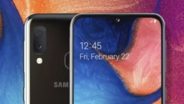 Samsung Galaxy A20e Unveiled, See Full Specifications and Features