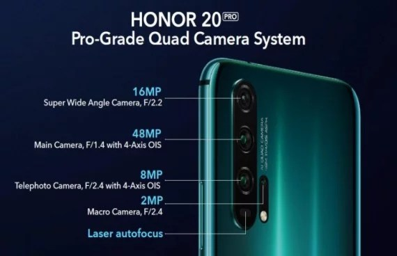 Huawei Honor 20 and Honor 20 Pro Specification, Price, and Availability