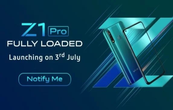 Vivo Z1 Pro Full Specification and Launch Date in India