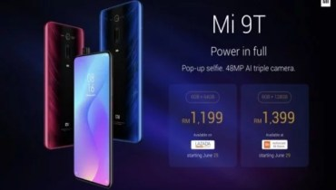Xiaomi Mi 9T Price and Availability in Malaysia and Philippine