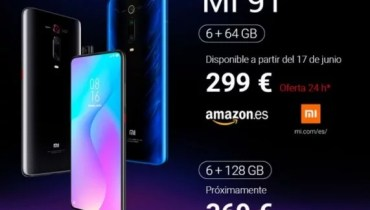 Xiaomi Mi 9T Arrives Europe; See Full Specification and Price