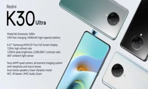 Xiaomi Redmi K30 Ultra is Official: See Price and Specification