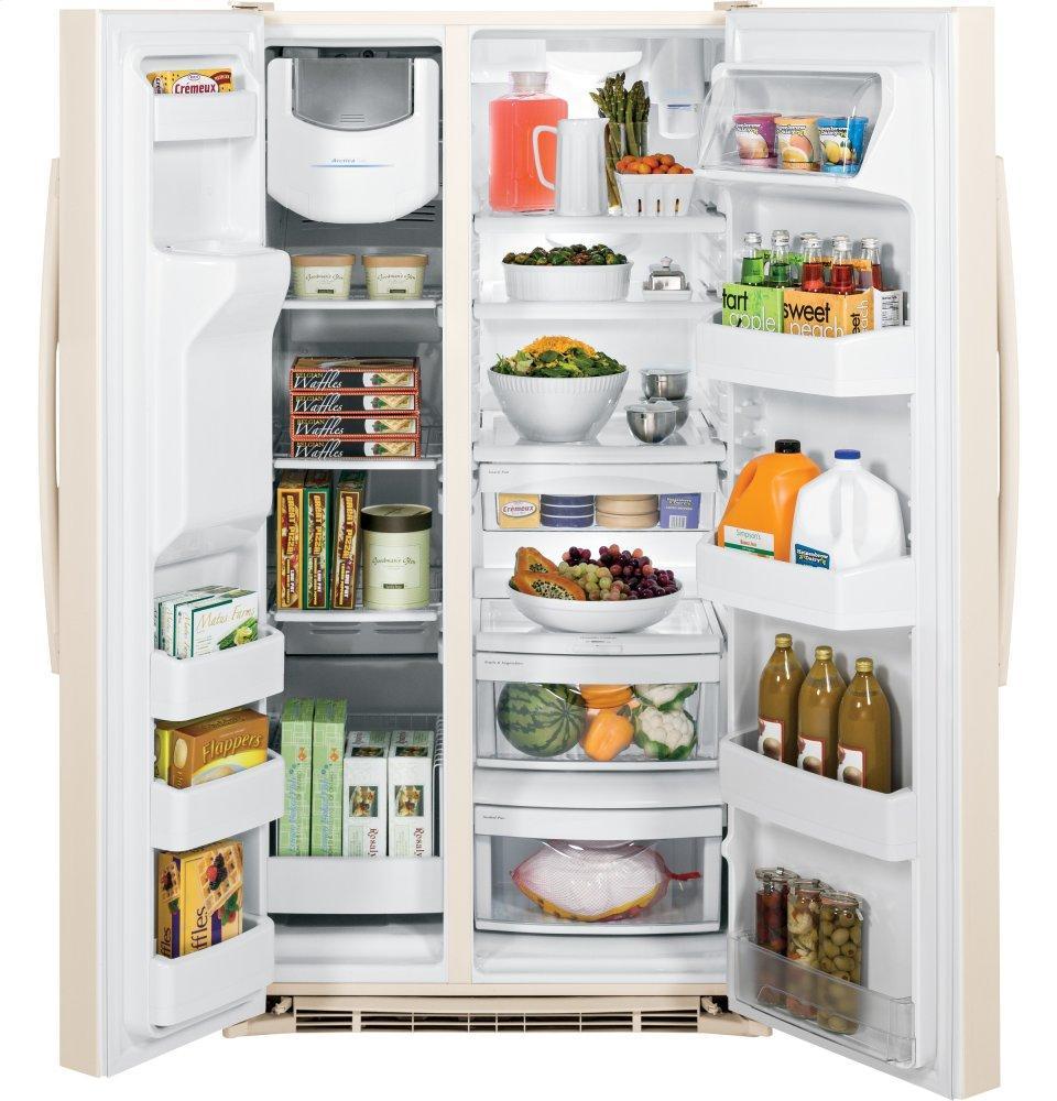 French Door Refrigerators In Bisque Color