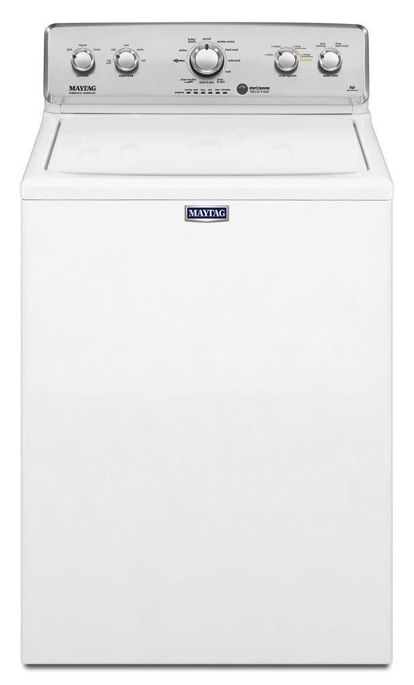 Mvwc565fw Maytag Top Load Washer With The Deep Water Wash Option And Powerwash Cycle 4 2 Cu Ft White Manuel Joseph Appliance Center