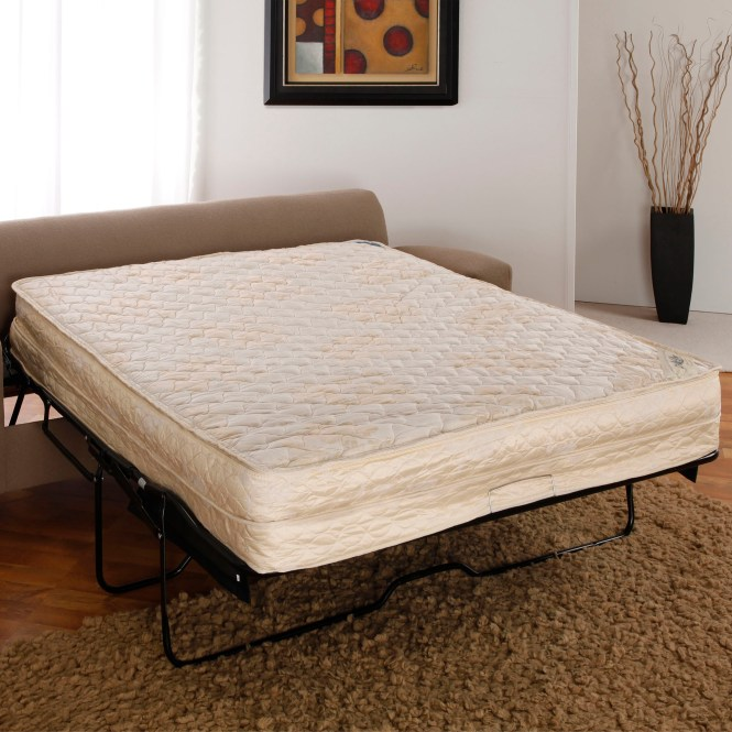 Airdream Hypoallergenic Inflatable Mattress With Electric Hand Pump For Sleeper Sofas 52 Full