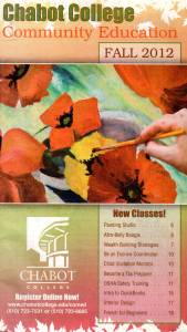 Front page of 2012 Comm Ed Catalog