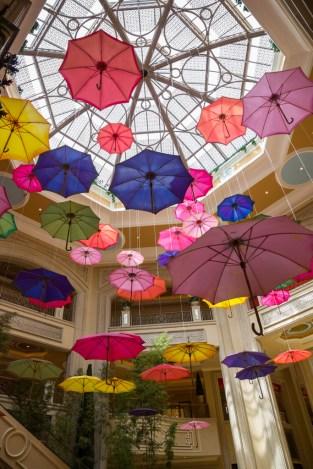 Parasol display - Venetian Hotel
