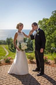 Bride and Groom - Glen Arbor, MI
