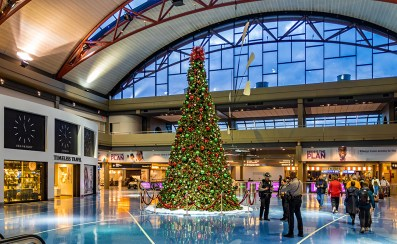 Christmas time at the Pittsburgh International Airport - Pittsburgh, PA