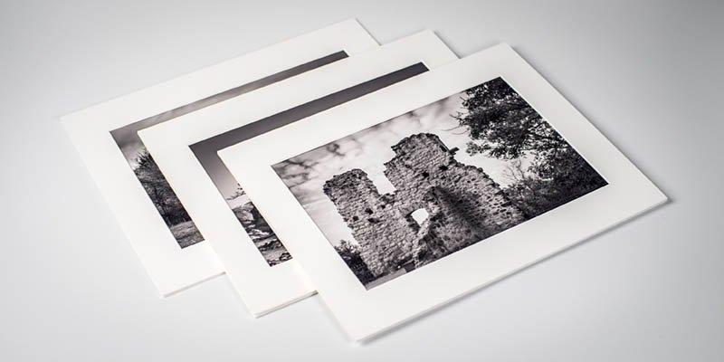Acid free cotton mat set