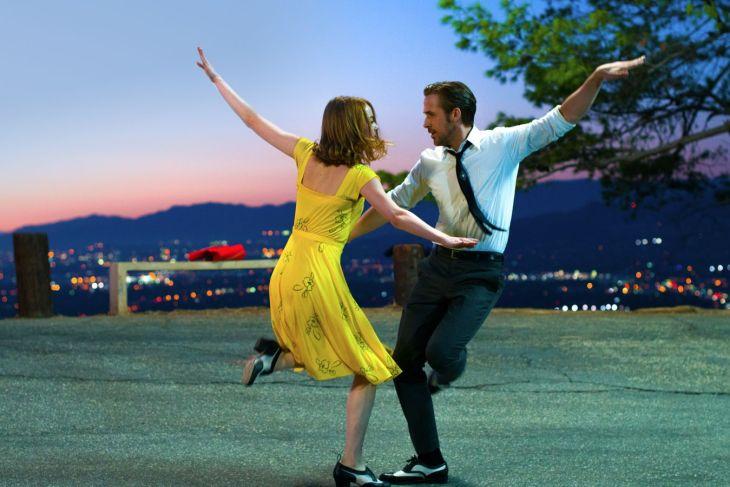 Emma Stone and Ryan Gosling in 'La La Land'
