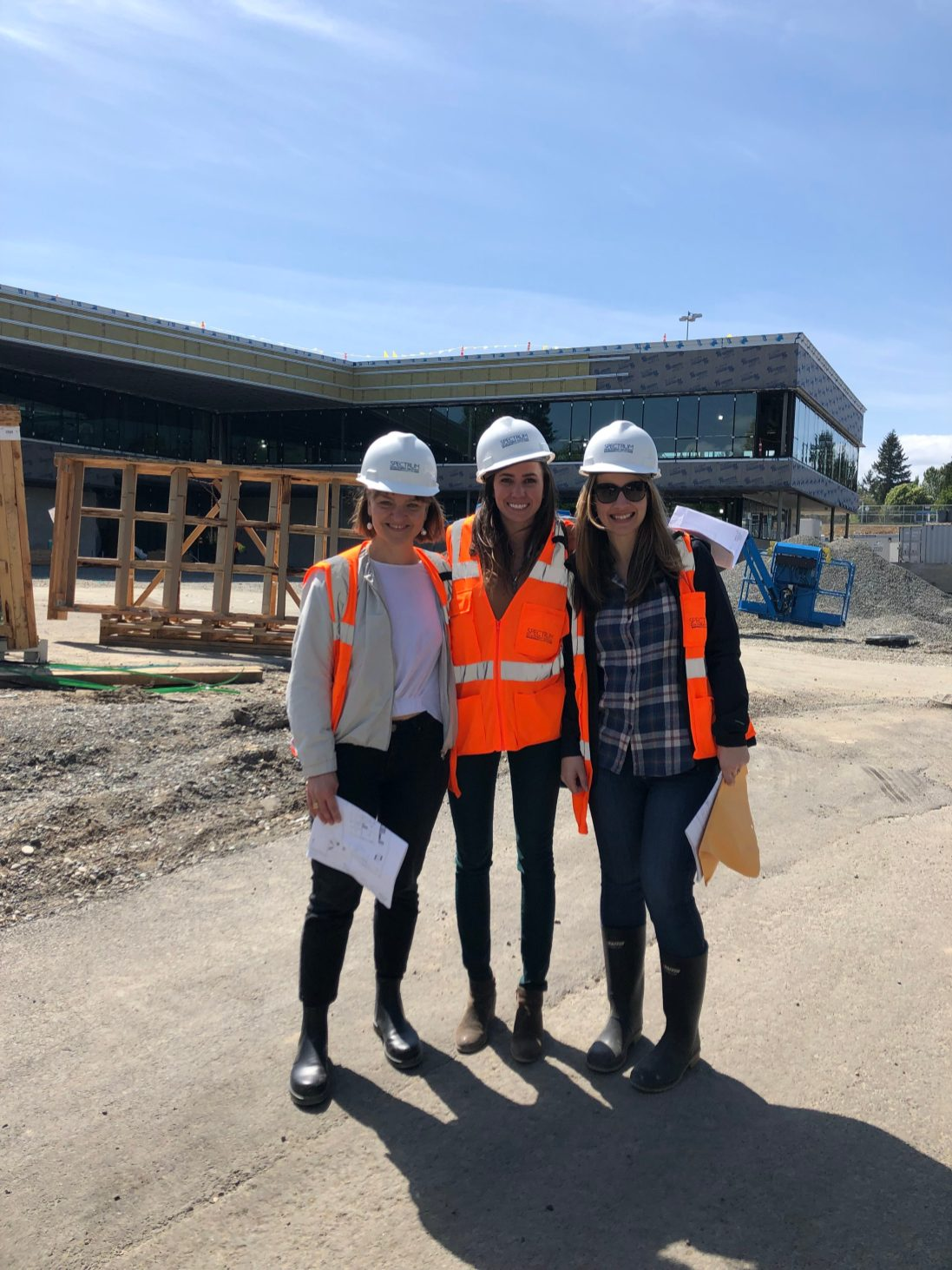 NKC Burien Campus during Construction 2019