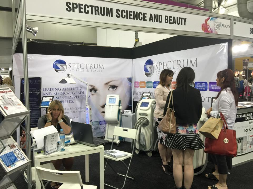 Spectrum exhibits at the first Brisbane Hair & Beauty Expo