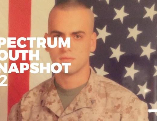 A photo of Marine Mike Rudulph.