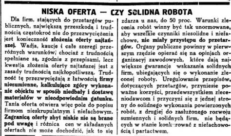 Gazeta Handlowa, 1934