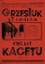 Pięć lat kacetu, S. Grzesiuk