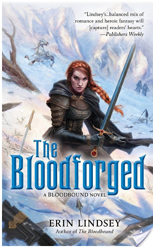 Review: The Bloodforged by Erin Lindsey