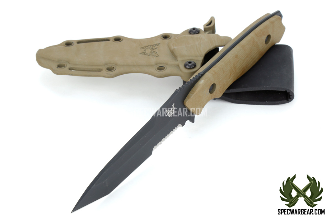 Benchmade Nimravus Fixed Blade Knife Usmc Fsbe Ii