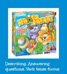 Photo Safari:  A fun game for describing and answering questions
