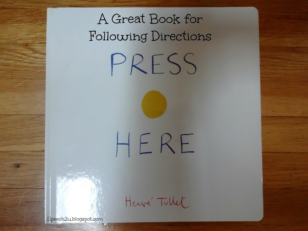 A Unique book to work on Following Directions