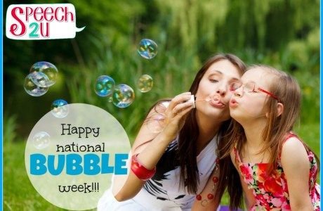 Happy National Bubbles Week: Activities and Products