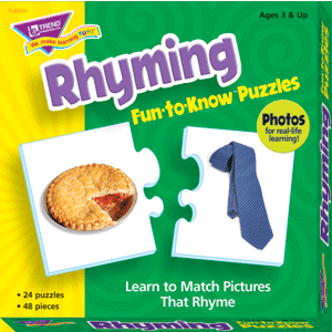 Rhyming - Fun To Know Puzzles-0