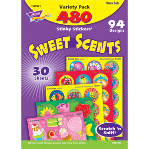 Sweet Scents - Stinky Stickers (480 stickers, 94 designs)-0
