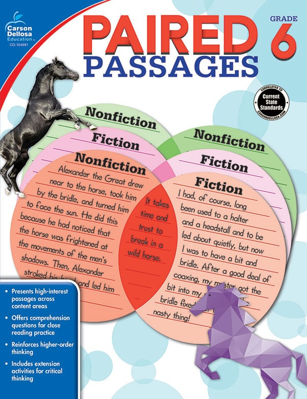 Paired Passages Grades 4-6-3678