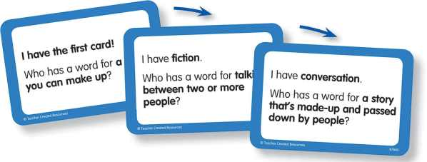 I Have...Who Has...? Academic Vocabulary 1-2-3743