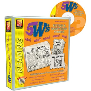 5 W's Fiction and Nonfiction Binder-0