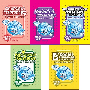 Double Dice Deck Bundle: Social Skills (DDD-006, 011, 034, 041, 043)-0