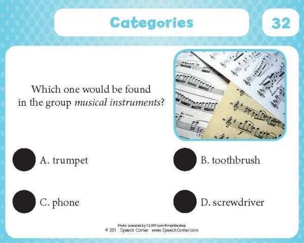 Spot On! Categories-4331