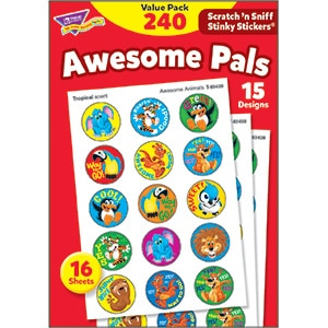Awesome Pals (240 stickers)-0