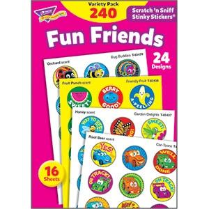 Fun Friends (240 stickers)-0