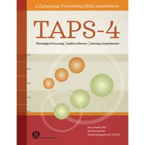 TAPS-4 A Language Processing Skills Assessment-25 Forms-0