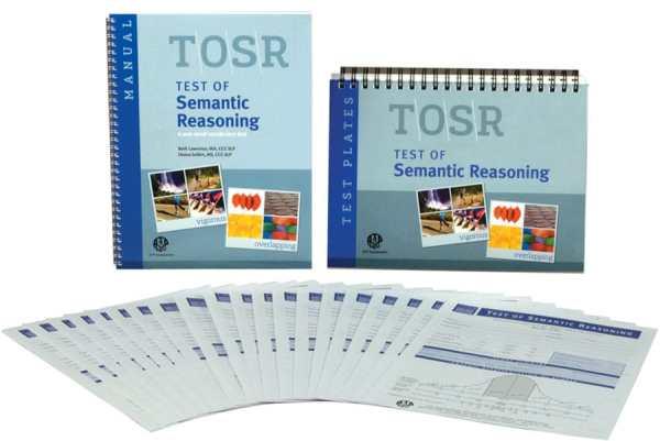 TOSR Test of Semantic Reasoning-Complete Kit-6232