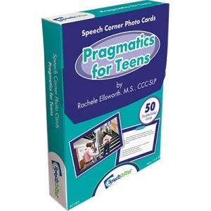 Speech Corner Photo Cards Pragmatics for Teens-0