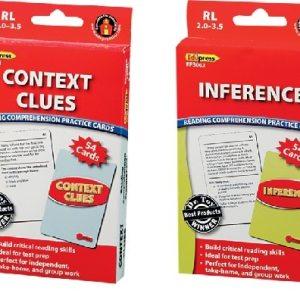 Comprehension Practice Cards: Complete 4 Box Set (TC-150, 155, 160, 165)-0
