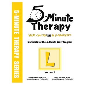5 Minute Therapy Series - Volume 3, L-0