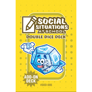 Social Situations Double Dice Add-On Deck **Damaged/Dented Discount** Web Only-0