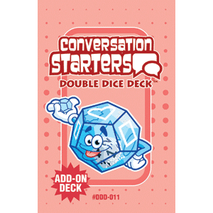Conversation Starters Double Dice Add-On Deck-0