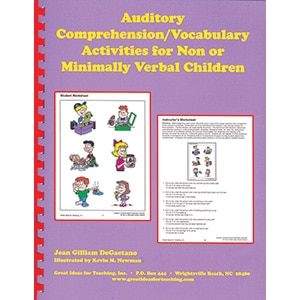 Auditory Comprehension/Vocabulary Activities for Non or Minimally Verbal Children-0