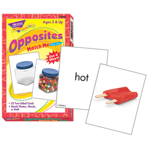 Match Me Cards - Opposites-0