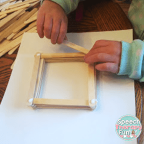 Speech Therapy Fun: Mother's Day Craftivity