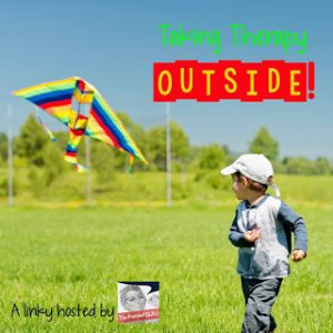 Speech Therapy Fun: Therapy Outside